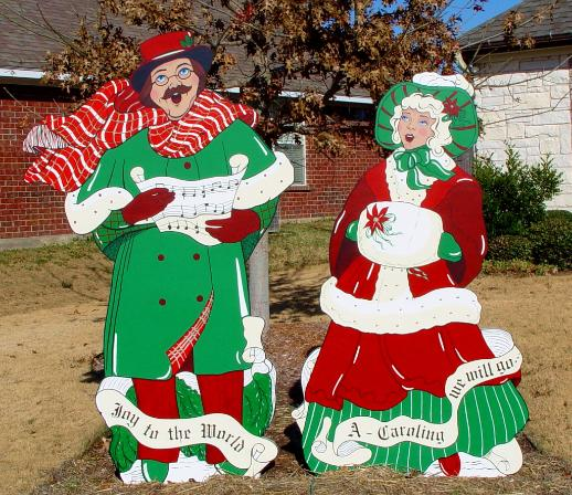 Outdoor Christmas Carolers Decorations http://dusekartgallery.com/home-decor.php